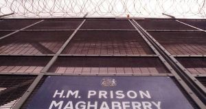 Maghaberry prison: children's charity Barnardo's Northern Ireland has described children with a parent in prison as the forgotten victims of crime. Photograph: Pacemaker Belfast