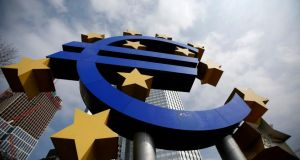 Expectations are growing that the ECB will cut interest rates at its monthly meeting on Thursday afternoon. Photograph:  Lisi Niesner/Reuters