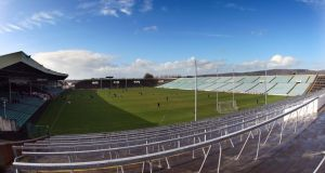The Gaelic Grounds in Limerick will host a double-header of Allianz Hurling League semi-finals on Easter Sunday, April 20th. Photograph:  Cathal Noonan/Inpho