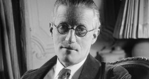 James Joyce: 'A writer who wore language like a straitjacket, trying to burst his way out in every cadence.' Photograph: Lipnitzki/Roger Viollet/Getty Images