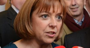 Emer Costello: The Dublin  MEP  called for the urgent publication of the final heads of the new climate change Bill. Photograph: Cyril Byrne/The Irish Times