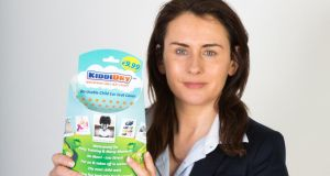 KiddiDry products are being made in Ireland and Maria Bray says costs to date are at about €25,000