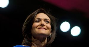 Sheryl Sandberg: has sold about 10 million shares worth some $400 million since Facebook made its stock-market debut in May 2012.  Photograph: Erin Lubin/Bloomberg