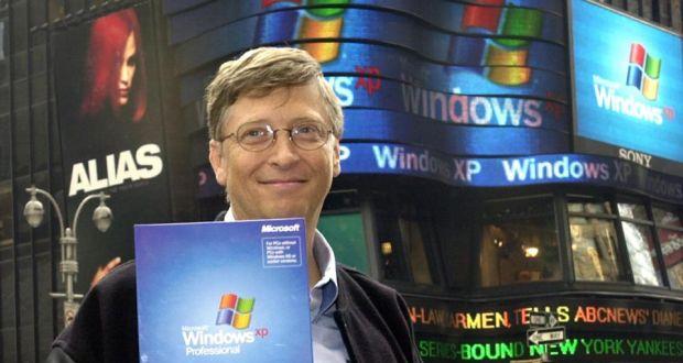 bill gates windows xp ile ilgili görsel sonucu
