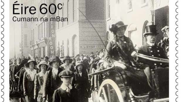 A new stamp goes on sale tomorrow to commemorate the centenary of the founding of Cumann na mBan.