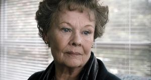 Judi Dench in Philomena –  the title character realises that just as she had spent many years searching for information about the son she gave up for adoption, he too had spent much time seeking out information about his birth mother.