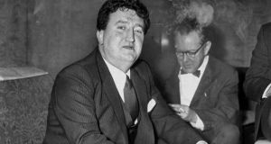 Brendan Behan aboard the Cunard Liner Queen Elizabeth, at Pier 90, North River, Manhattan. Photograph: Fred Morgan/NY Daily News Archive/Getty Images