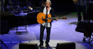 Paul Simon in concert at the O2 in Dublin in 2012. Photograph: Dara Mac Dónaill