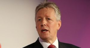 Northern Ireland first minister Peter Robinson described the sale as 'excellent news'. Photograph: : Paul Faith/PA Wire