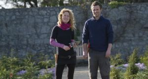 Kitty Scully and Colm O'Driscoll, the new head gardeners at Airfield estate