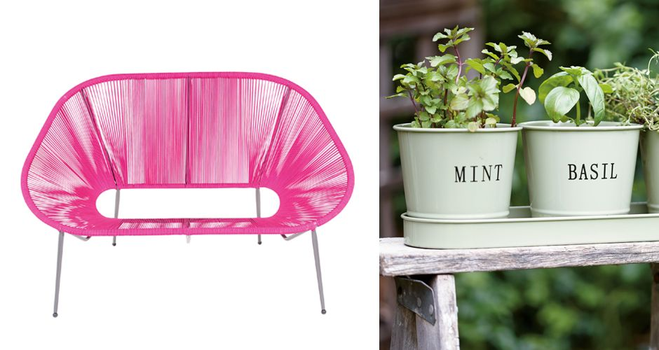 What we like: garden furniture