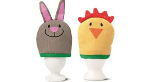 THREE OF THE BEST... QUIRKY BREAKFAST ITEMS These egg warmers, €2, from Tiger Stores (tiger-stores.ie) will bring a smile to anyone, especially if served with breakfast in bed.