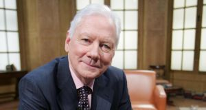 Gay Byrne: regrets never having had an adult conversation about the war with this father. Photograph: RTE