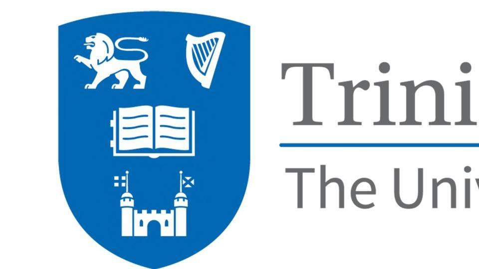 Blazon trinity college dublin logo vector.