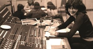 Purcell at work in RTÉ. Photograph: Derek Speirs