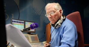 Gay Byrne's father, Edward, fought at Ypres and the Somme