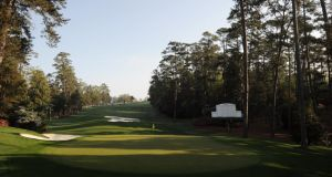 The tenth green at Augusta National Golf Club in  Georgia which once again hosts the US Masters next week. Photo:  Harry How/Getty Images