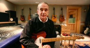 Status Quo's Francis Rossi at his home in south London. File photograph: Gareth Fuller/PA Wire