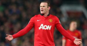 Wayne Rooney will not feature in today's Premier League game against Newcastle. Photograph:  Alex Livesey/Getty Images