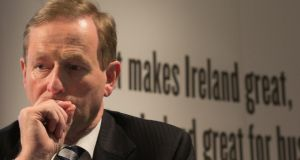 "Taoiseach Enda Kenny: ""At the end of our period in government people will judge us."""
