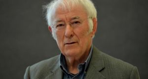 Seamus Heaney: teamed up with Des Kavanagh as a boarder at St Columb's College