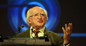 President Michael D Higgins's state visitto Britain begins on Tuesday. Photograph: Cyril Byrne/The Irish Times
