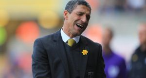 Former Republic of Ireland manager Chris Hughton has been sacked by Premier League strugglers Norwich City