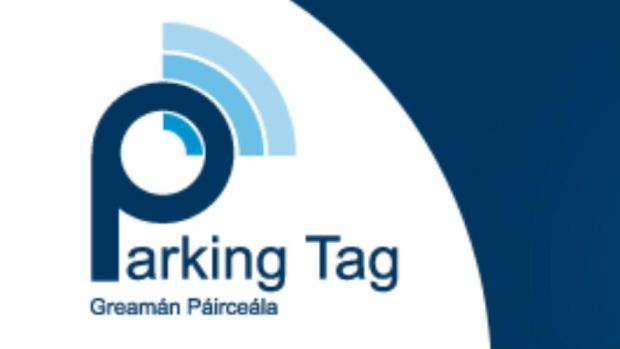 Account holders pay for parking by sending a text message or through the Parking Tag mobile app.