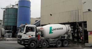 The boards of Lafarge and Holcim  are due to announce the companies' merger today. Photograph: Fabrice Dimier/Bloomberg