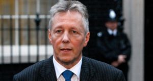 First Minister Peter Robinson claims that the interests of Sinn Féin in Northern Ireland are regarded as subservient to their interests in the Dáil.  Photograph: Luke MacGregor/Reuters