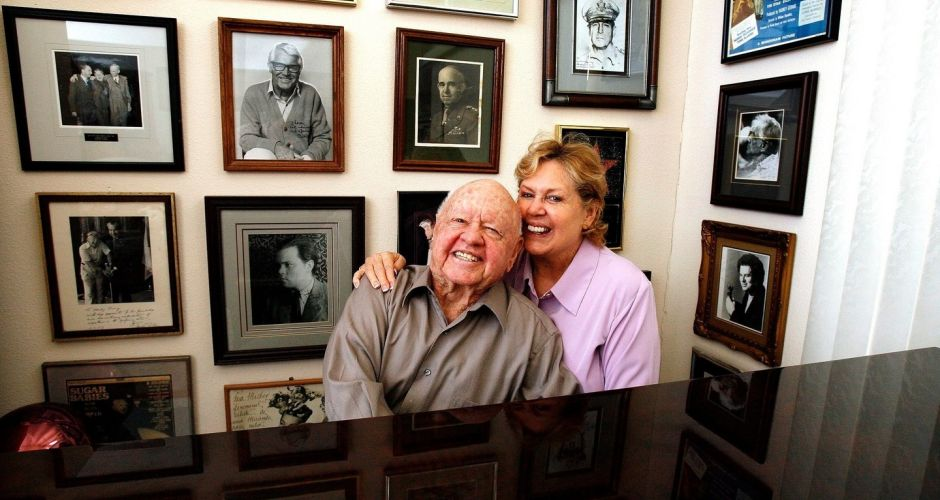 Mickey Rooney: A life in pictures