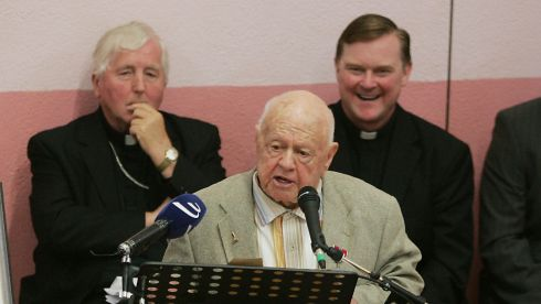 Speaking at the event in memory of Fr Flanagan in Ballymoe, Co Roscommon. Photograph: Alan Betson/The Irish Times