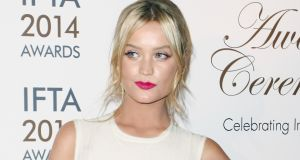 Laura Whitmore in John Rocha. Photograph Getty Images