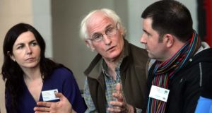 Duncan Stewart (middle of photograph) pictured at a Youth Eco-Forum in 2009. Photograph: Matt Kavanagh/The Irish Times