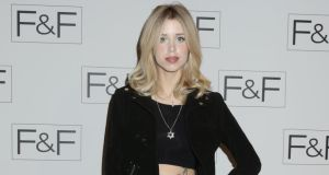 Peaches Geldof pictured at a fashion show last week. Photograph: PA