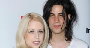 Peaches Geldof with her second husband, musician Tom Cohen. Photograph: Anthony Devlin/PA Wire