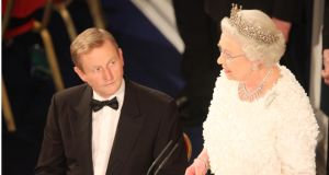 Queen Elizabeth is no stranger to Irish. She used it to address guests at a special State Dinner in St Patrick's Hall Dublin Castle in 2011. File photograph: Bryan O'Brien/The Irish Times