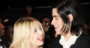 Peaches Geldof and her husband Thomas Cohen who has led tributes to the 25-year-old who was found dead at her home yesterday. Photograph: Getty