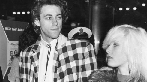 Back in the day: Peaches' parents Bob Geldof and late former wife Paula Yates photographed in 1979 during his Boomtown Rats heyday. Photograph: Keystone/Getty Images
