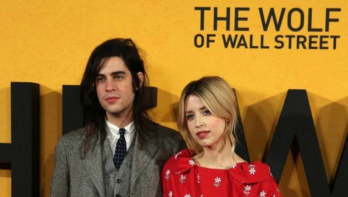 Peaches Geldof and husband Thomas Cohen arrive for the UK premiere of The Wolf of Wall Street at Leicester Square in London in this January 9th, 2014 photo. Photograph: Paul Hackett/Reuters