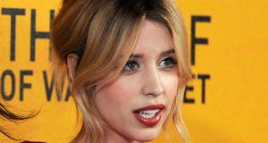 A file picture dated January 9th, 2014 of Peaches Geldof. Photograph: EPA/Facundo Arrizabalaga