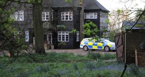 A general view of Peaches Geldof's house this morning in Wrotham. Photograph: Alan Chapman/Getty