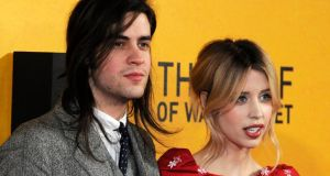Peaches Geldof with her husband, Thomas Cohen. Photograph: EPA/Facundo Arrizabalaga