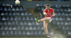 Daniel Goulding: will line out in full forward line for Cork against Dublin on Sunday. Photograph: Ken Sutton/Inpho.