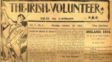 "First edition: the Irish Volunteer was loaded with references to Clontarf and the ""struggle against the Danes"""