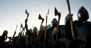 Living history: a Viking re-enactment. Photograph: Kieran Doherty/Reuters