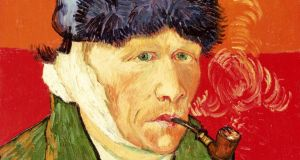 Vincent Van Gogh's 'Self Portrait with Bandaged Ear and Pipe' (1889)