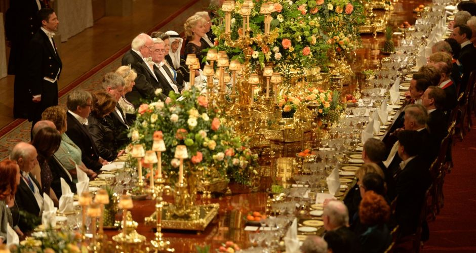 Banquet at Windsor Castle