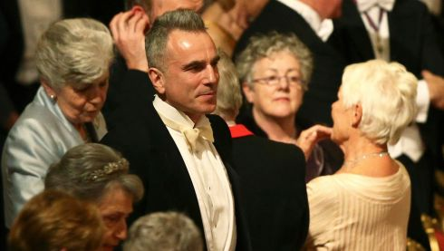 Actor Daniel Day-Lewis also attended the state banquet. Photograph: Dan Kitwood/Pool /Reuters