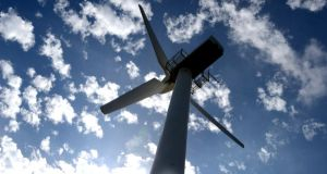 "Wind Aware Ireland (WAI)  has called on the Government to reform its ""unsustainable"" wind energy policy. Photograph: Cyril Byrne /The Irish Times"